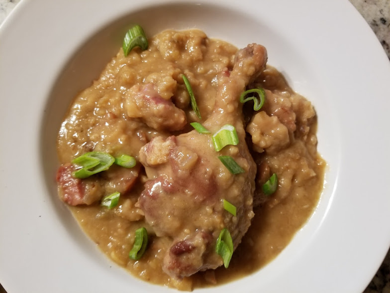 Egyptian Cassoulet (Broad Bean and Salted Meat Stew)
