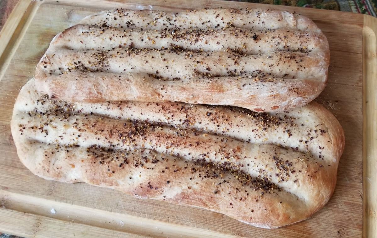 NAN-E-BARBARI (Persian Flatbread)